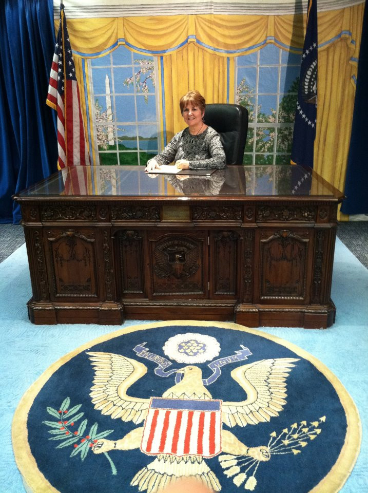 Beverly in Oval Office