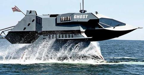 Ghost Stealth Attack Craft Navy Seals